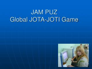 JAM PUZ Global JOTA-JOTI Game