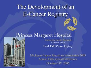 The Development of an  E-Cancer Registry