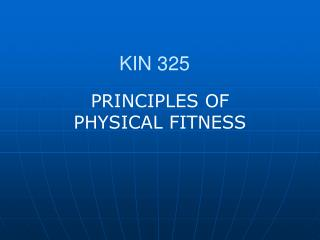 INTRODUCTION1.Health Risk Factors2.Physical Fitness: What is it3.Components of Physical Fitness4.General Principles of P