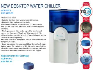 NEW DESKTOP WATER CHILLER