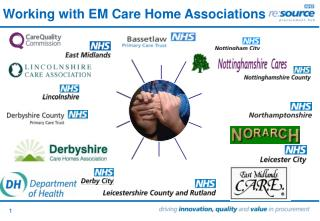 Working with EM Care Home Associations