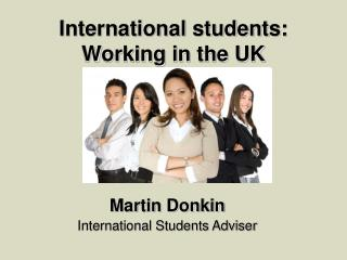 International students: Working in the UK