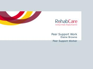 Peer Support Work