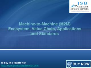 Machine-to-Machine (M2M) Ecosystem, Value Chain, Application