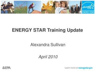 ENERGY STAR Training Update