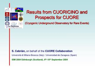 Results from CUORICINO and Prospects for CUORE (Cryogenic Underground Observatory for Rare Events)