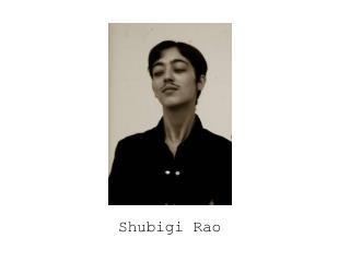 Shubigi Rao