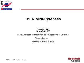 MFQ Midi-Pyrénées