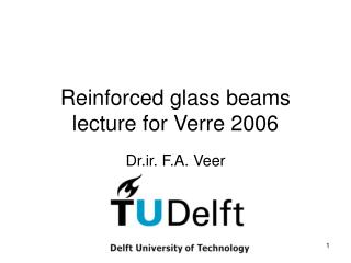 Reinforced glass beams lecture for Verre 2006