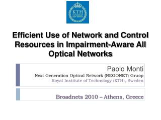 Broadnets 2010 – Athens, Greece