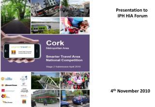 Presentation to IPH HIA Forum