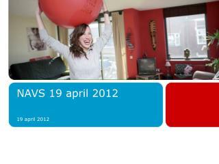 NAVS 19 april 2012