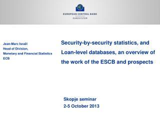 Skopje seminar 2-5 October 2013