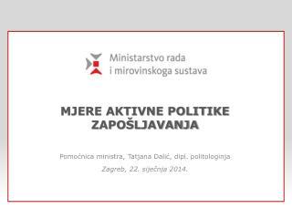 mjere aktivne politike zapo�ljavanja