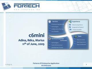 c6mini Adina, R é ka, Marius 11 th  of June, 2009