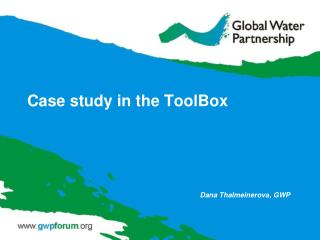 Case study in the ToolBox