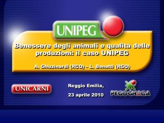 Reggio Emilia,  23 aprile 2010