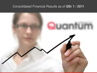 Consolidated Financial Results as of QSr 1 / 2011