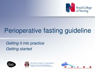Perioperative  fasting guideline