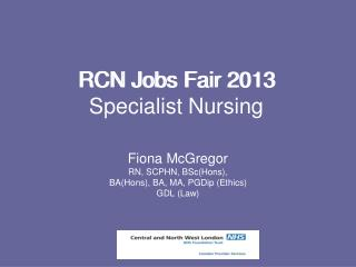 RCN Jobs Fair 2013