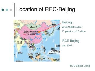 Location of REC-Beijing