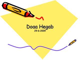 Doaa Hegab 29-6-2009