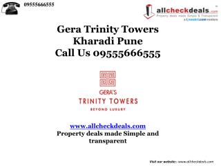 Gera Trinity Towers By Gera At Kharadi