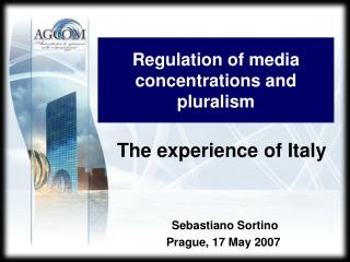 Regulation of media concentration s  and pluralism