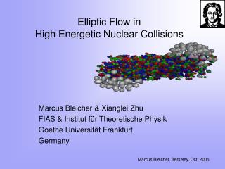 Elliptic Flow in  High Energetic Nuclear Collisions