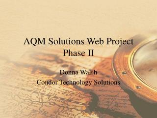 AQM Solutions Web Project Phase II