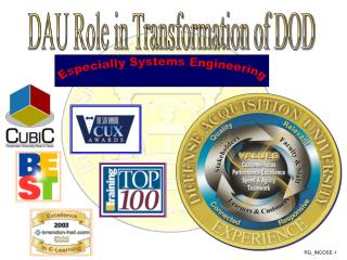 DAU Role in Transformation of DOD