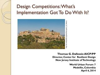 Design Competitions: What's Implementation Got To Do With It?