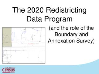 The 2020 Redistricting Data Program