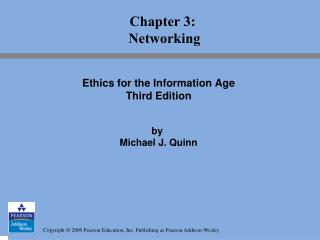Chapter 3:  Networking