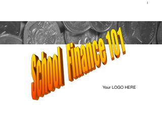 School   Finance 101
