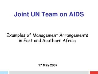 Joint UN Team on AIDS