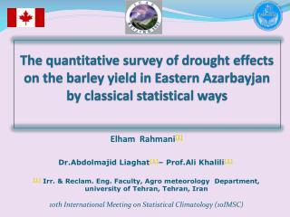 Elham  Rahmani [1 ] Dr.Abdolmajid Liaghat [1] – Prof.Ali Khalili [1]