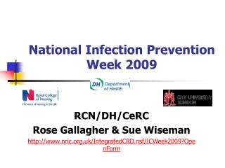 National Infection Prevention Week 2009