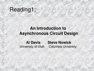 Reading1: