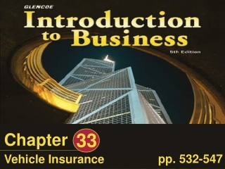Chapter 16: Introduction to Property and Liability Insurance