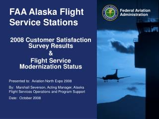 FAA Alaska Flight Service Stations
