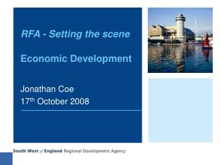 RFA - Setting the scene Economic Development