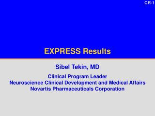 EXPRESS Results