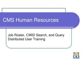 CMS Human Resources