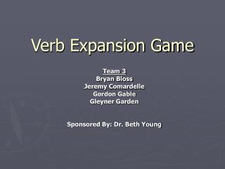 Verb Expansion Game