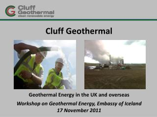 Cluff  Geothermal