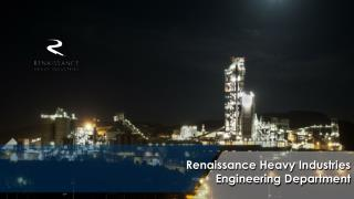 Renaissance Heavy Industries Engineering Department