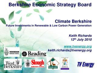 Berkshire Economic Strategy Board Climate Berkshire