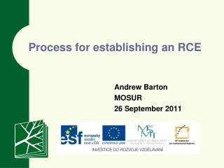 Process for establishing an RCE