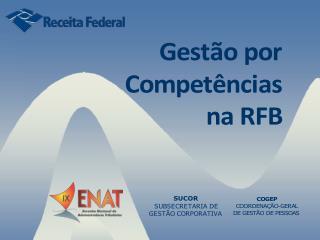 Gestão por Competências na RFB